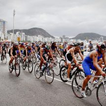 Cycling Competition In Honolulu