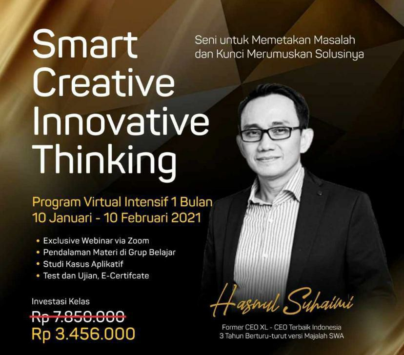 Smart Creative Innovative Thinking